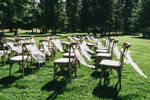 Seating Rentals in Whitefish Montana, Kalispell, Columbia Falls, Bigfork, West Glacier, Glacier National Park, Eureka, Lakeside, Polson, Missoula MT