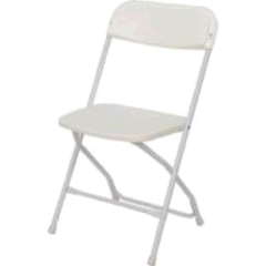 Rental store for CHAIR, FOLDING WHITE in Whitefish MT