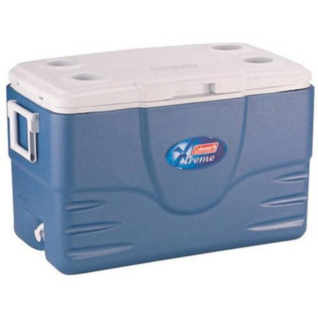 Where to find COOLER, 70QT COLEMAN BLUE in Whitefish