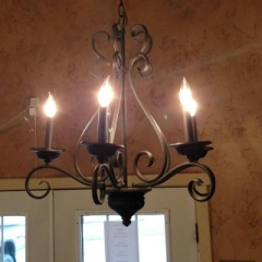 Rental store for CHANDELIER 5 BULB IRON in Whitefish MT