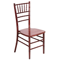 Rental store for CHAIR, CHIAVARI- MAHOGANY in Whitefish MT