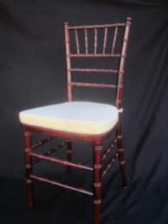 Rental store for CHAIR, CHIAVARI TRADITIONAL CUSHION in Whitefish MT