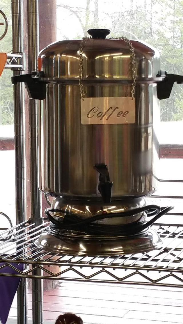 Where to find COFFEE MAKER, 55 CUP URN in Whitefish