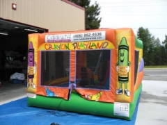 Rental store for BOUNCE HOUSE, 3 IN 1 CRAYOLA in Whitefish MT