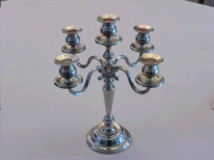 Rental store for CANDELABRA, SILVER TABLE 5 LIGHT in Whitefish MT