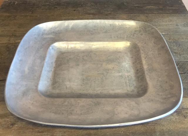 Where to find TRAY, 17X17  PEWTER in Whitefish