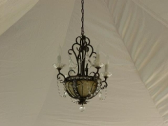 Rental store for CHANDELIER SMALL CRYSTAL in Whitefish MT