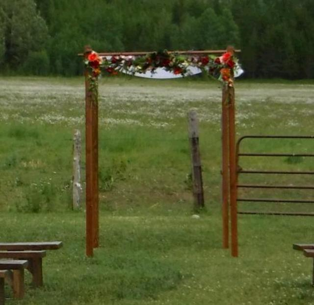 Where to find CHUPPAH ARCH in Whitefish