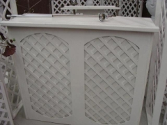 Rental store for WHITE LATTICE BAR 4FT in Whitefish MT