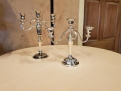 Rental store for CANDELABRA, SILVER TABLE 3 LIGHT in Whitefish MT