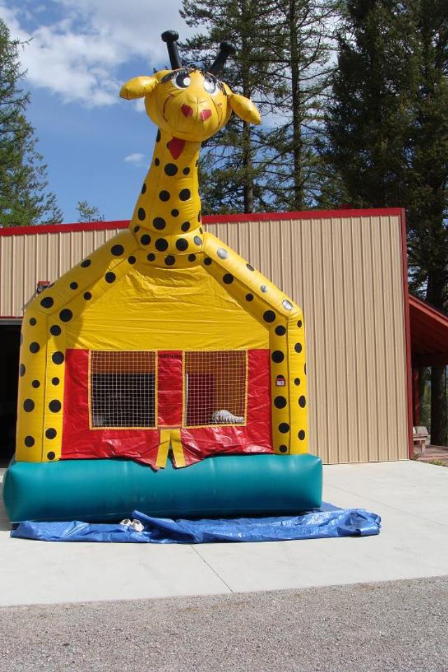 Where to find BOUNCE HOUSE, GIRAFFE in Whitefish