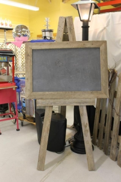 Rental store for BARN WOOD EASEL in Whitefish MT
