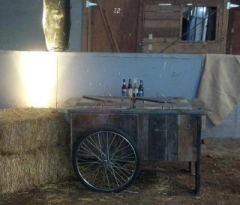 Rental store for COOLER, BARN WOOD ICE CREAM CART in Whitefish MT