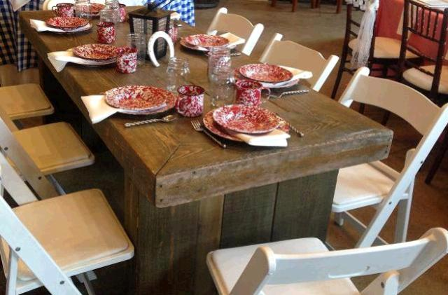Where to find TABLE, 6FT BARN WOOD in Whitefish