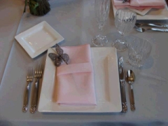 Rental store for LINEN, NAPKIN PASTEL PINK in Whitefish MT