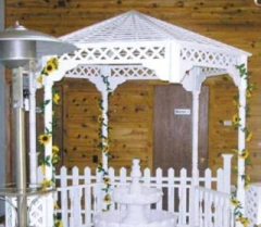 Rental store for GAZEBO WHITE WOOD 96 in Whitefish MT