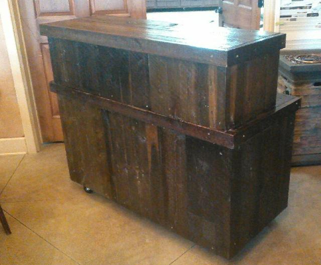 Where to find RUSTIC WOOD BAR 4FT in Whitefish