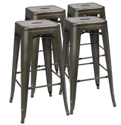 Rental store for BAR STOOL METAL GUN METAL in Whitefish MT