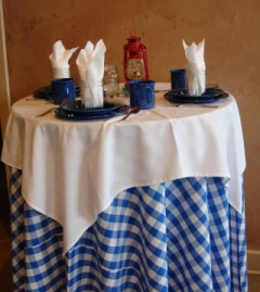 Rental store for GINGHAM BLUE LINENS in Whitefish MT
