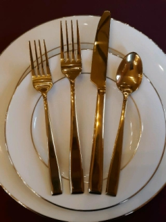Rental store for COVENTRY GOLD FLATWARE in Whitefish MT