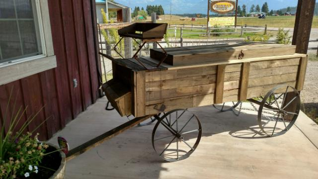 Rent Wood Carts & Coolers